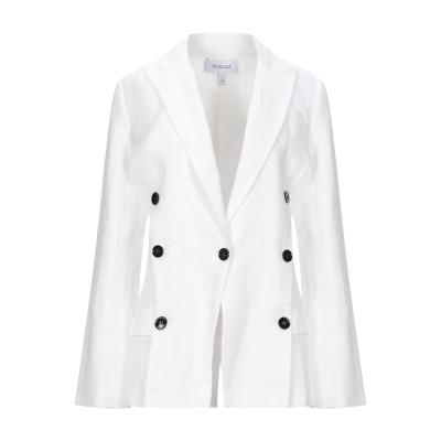 DEREK LAM 10 CROSBY テーラードジャケット ホワイト 6 リネン 40% / テンセル 38% / コットン 22% テーラードジ