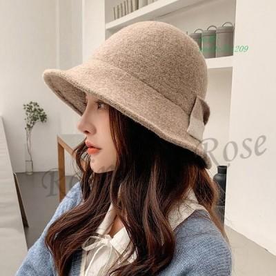 帽子 レディース バケットハット ボアハット つば広帽子 ハット 秋 暖かい 冬 学生 ギフト 彼女 韓国風 もこもこ 贈り物 オシャレ おしゃれ かわいい