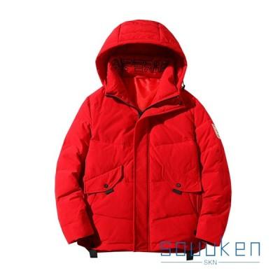 ダウンジャケット 冬服 メンズ フード付き 厚手 防風 防寒 暖かい ダウンコート 大きいサイズ ゆったり おしゃれ カッコイイ 登山
