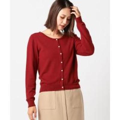 MEW'S REFINED CLOTHESウォッシャブル2WAY定番カーディガン【お取り寄せ商品】
