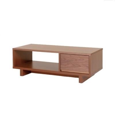 テーブル 日本製 クレスポ リビングテーブル ウォールナット材 レグナテック 国産家具 オーダーテーブル(受注生産・代引き不可)