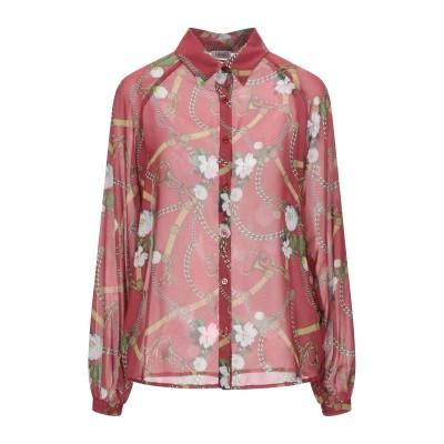 リュー ジョー LIU •JO シャツ レッド 42 ポリエステル 100% シャツ
