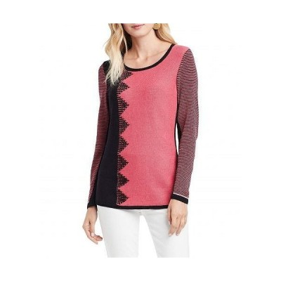 NIC+ZOE ニックアンドゾー レディース 女性用 ファッション セーター Outer Angle Sweater - Black Multi