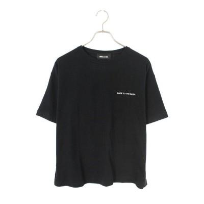 ウィンダンシー WIND AND SEA WDS-CS-250 サイズ:S BACK TO THE BASIC 刺繍Tシャツ 中古 BS99