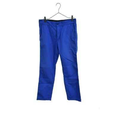 COMME des GARCONS HOMME(コムデギャルソンオム)13SS 製品染ストレートトラウザーパンツ ブルー HK-P010