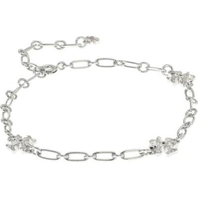トリー バーチ Tory Burch レディース ブレスレット ジュエリー・アクセサリー Roxanne Chain Delicate Bracelet Shiny Pewter