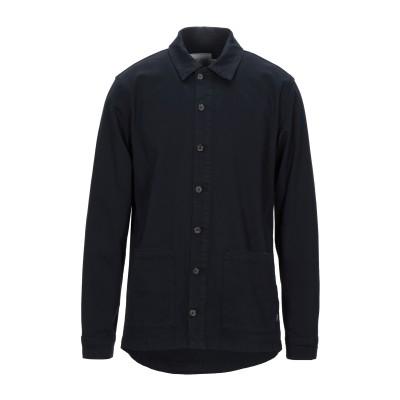 LES DEUX シャツ ダークブルー S コットン 97% / ポリウレタン 3% シャツ