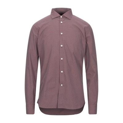ブリオ BRIO シャツ ボルドー 40 コットン 100% シャツ