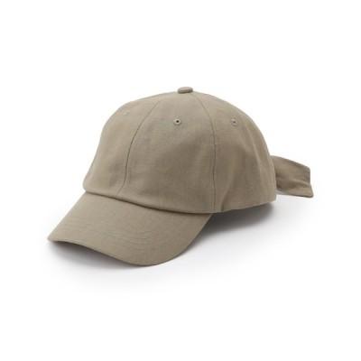 SHOO・LA・RUE / 【UVカット】手結びリボンキャップ WOMEN 帽子 > キャップ