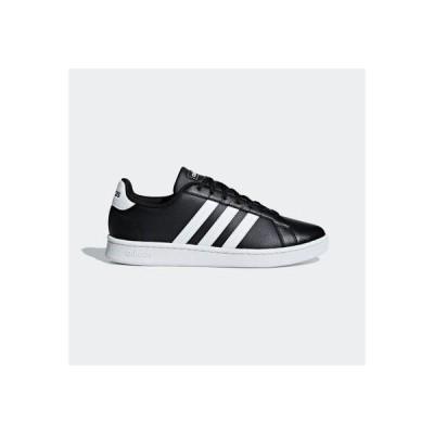 アディダス adidas グランドコート LEA U / GRANDCOURT LEA U (ブラック)