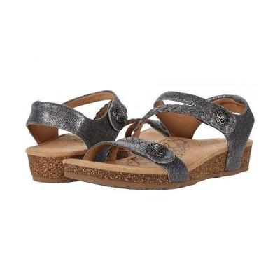 Aetrex エートレックス レディース 女性用 シューズ 靴 サンダル Jillian Quarter Strap - Pewter