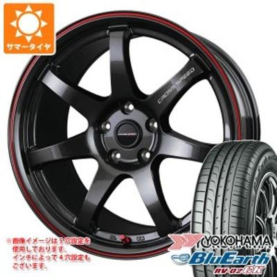 2021年製 サマータイヤ 155/65R14 75H ヨコハマ ブルーアース RV-02CK クロススピード ハイパーエディション CR7 4.5-14 タイヤホイール4