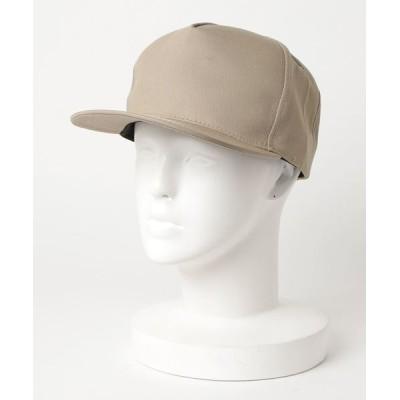 TONE / 【TONE USA】5PANEL HIGH CROWN TWILL FLAT BILL CAP (UN) MEN 帽子 > キャップ