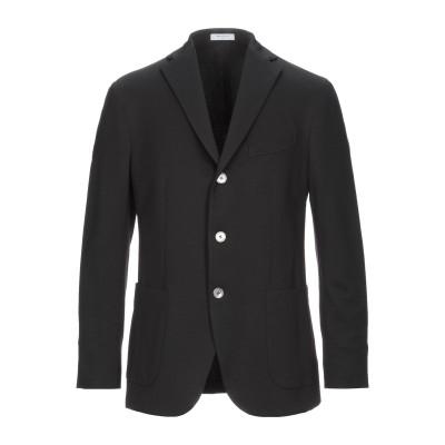 ボリオリ BOGLIOLI テーラードジャケット ブラック 56 コットン 60% / ナイロン 35% / ポリウレタン 5% テーラードジャケット