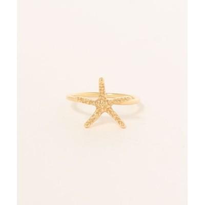 con affetto / K18 Starfish Ring WOMEN アクセサリー > リング