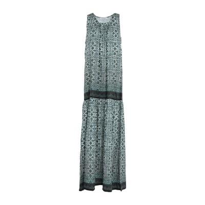 ツインセット シモーナ バルビエリ TWINSET ロングワンピース&ドレス グリーン M レーヨン 100% ロングワンピース&ドレス