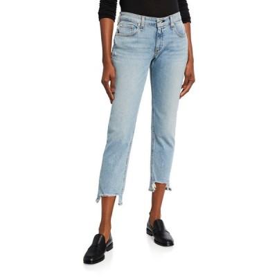 ラグアンドボーン レディース デニムパンツ ボトムス Dre Low-Rise Slim Boyfriend Jeans