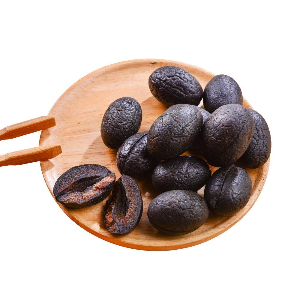 去籽黑橄欖〈中藥味〉300公克【每日優果】