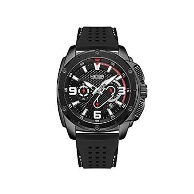 【新品・送料無料】MEGIR Men Army Sport Watches 2020 New Chronograph Quartz Watch Man Fashion