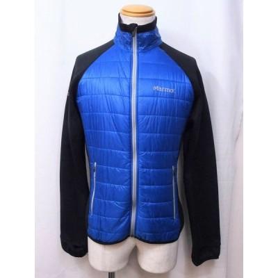 Marmot マーモット  フリース ジャケット メンズ  S/P ブラック/ブルー