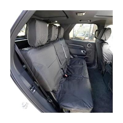 UK Custom Covers SC324B Tailored Heavy Duty Waterproof Rear Seat Covers - Black