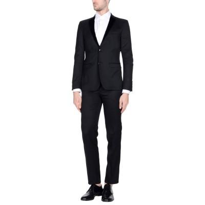 マニュエル リッツ MANUEL RITZ スーツ ブラック 50 54% ポリエステル 44% ウール 2% ポリウレタン スーツ