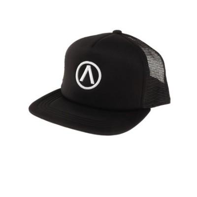 エアボーン(ARBN)帽子 メンズ メッシュキャップ ロゴキャップ ARBNACC-12003 BLXWH 大きめ 日よけ