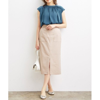 (ViS/ビス)Lポケットタイトスカート/レディース ベージュ系(28)