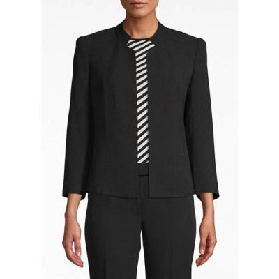 アンクライン レディース ジャケット・ブルゾン アウター Women's Stand Collar Open Front Jacket