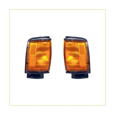Rareelectrical NEW SIDE MARKER LIGHT PAIR COMPATIBLE WITH TOYOTA PICKUP STD 1984-1986 TO2520158 81610-89143 8162089143 8161089143 TO2521158 81620-8914