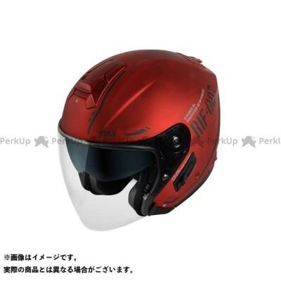 【無料雑誌付き】WINS ジェットヘルメット G-FORCE SS JET STEALTH(10.アイアンレッド×ブラック) サイズ:L ウインズヘ…