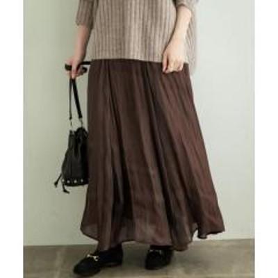 アーバンリサーチサニーレーベルフィラメントフレアスカート【お取り寄せ商品】
