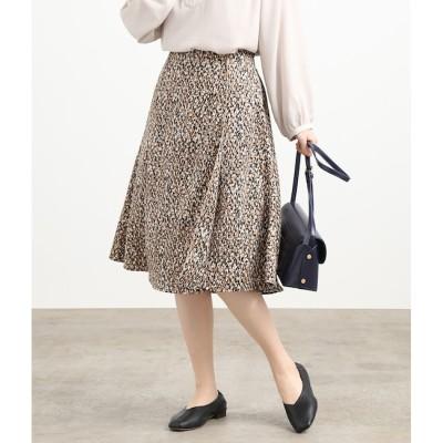 【ビス/ViS】 モザイク柄パイピングスカート