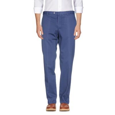 TOMBOLINI パンツ ブルー 54 コットン 97% / ポリウレタン 3% パンツ