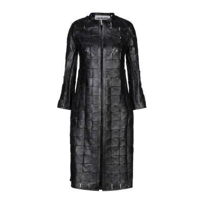 CABAN ROMANTIC コート ブラック 40 羊革(ラムスキン) コート