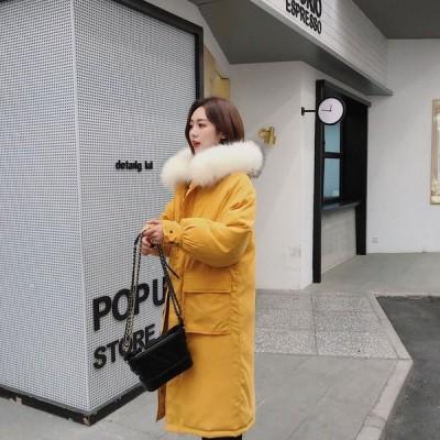 首元を優しく包み込む中綿コート中綿コート防寒コート