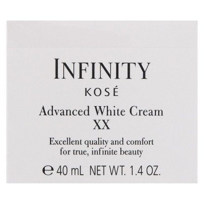 コーセー インフィニティ アドバンスト ホワイト クリーム XX 美白クリーム 40g