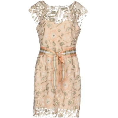 HH COUTURE ミニワンピース&ドレス ライトピンク M 100% ポリエステル ミニワンピース&ドレス