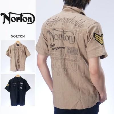 ノートン 半袖シャツ NORTON 72n1505