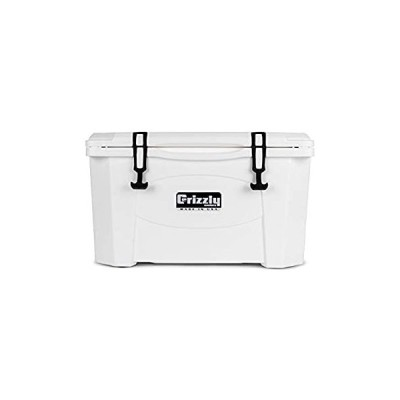 Grizzly 40 quart White/Cooler by Grizzly Coolers