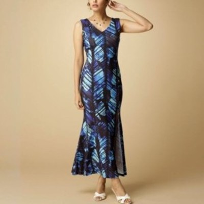 Ocean Blue Bird タパスリットワンピース    レディースアパレル ドレス