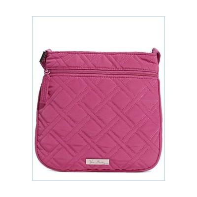 Vera Bradley Women's Petite Double Zip Hipster Crossbody Fuchsia Crossbody Bag並行輸入品
