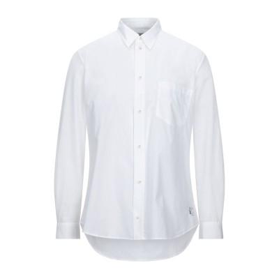 バンドオブアウトサイダーズ BAND OF OUTSIDERS シャツ ホワイト S コットン 100% シャツ