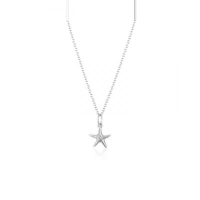 EL&RO El&ro jewellery レディース ネックレス ジュエリー・アクセサリー Seastar Necklace   Silver Silver