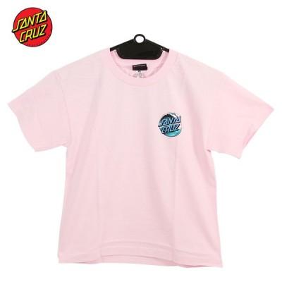 SANTACRUZ サンタクルズ ジュニア キッズ ユース SS Tシャツ WAVE DOT