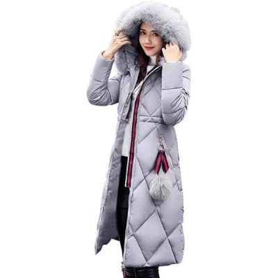 コート レディース ロング ダウンコート ダウンジャケット 膝下 秋冬 シルエット 防寒 防風(s2012251282)