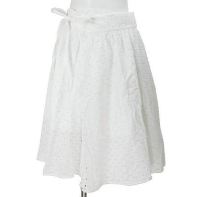 ヴゼット VOUSETES 白レースラップスカート