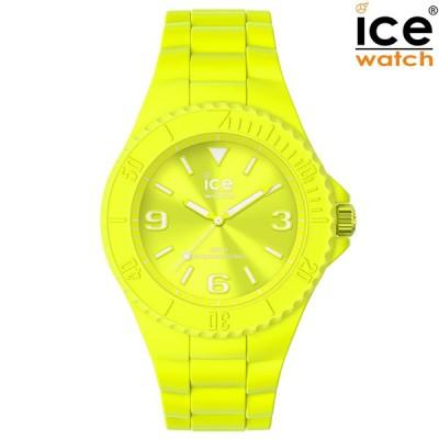 取寄品 正規品 ice watch アイスウォッチ 019161 ICE generation アイスジェネレーション フラッシーイエロー Medium ミディアム メンズ腕時計 送料無料