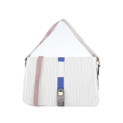 EBARRITO レディース ハンドバッグ 鞄 ホワイト
