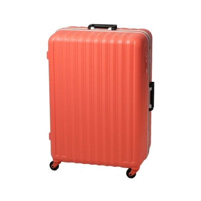 (BOUNDRIP/バウンドリップ)バウンドリップ スーツケース Lサイズ フレームタイプ ストッパー付き 軽量 大型 大容量 105L BD88/ユニセックス ピンク系1